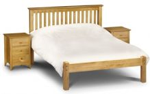 Barcelona Pine Low Foot End Double Bed 135cm